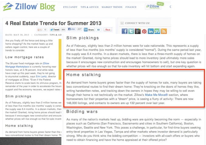 Zillow's Top Real Estate Trends for Summer 2013