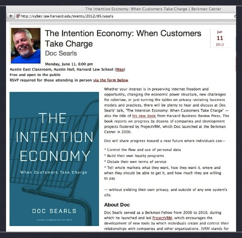 Intention Economy Book