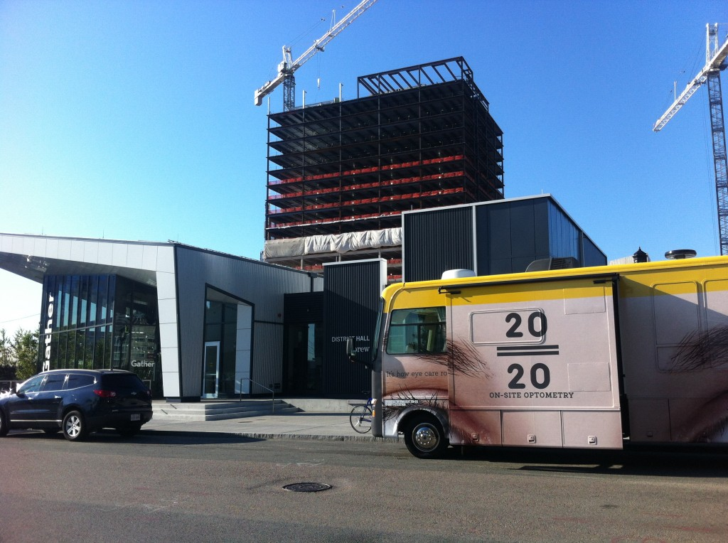 SYNCHRONICITY: Truck outside #REBCBos mirrors 5 year plan to create open ecosystem in RE? http://bit.ly/DisruptFunding  #RE2020