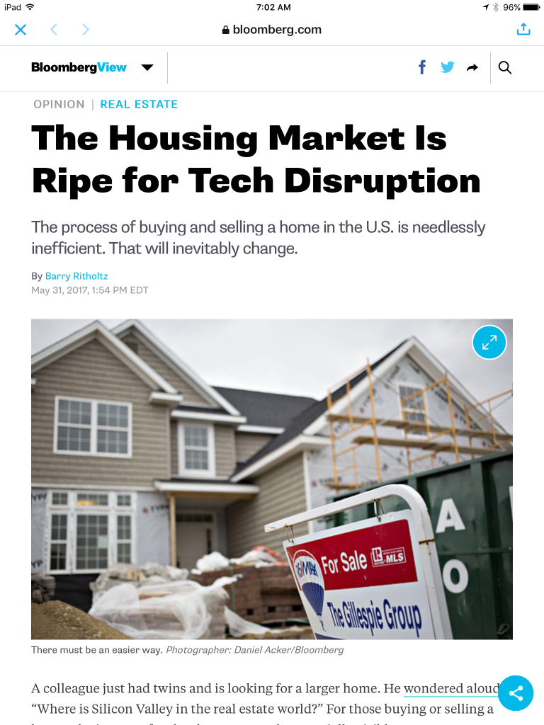 open letter to next generation of homebuyers disruptive real estate innovators